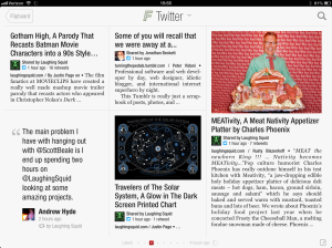 Flipboard in action